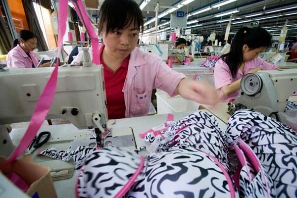 Chinese bra factory